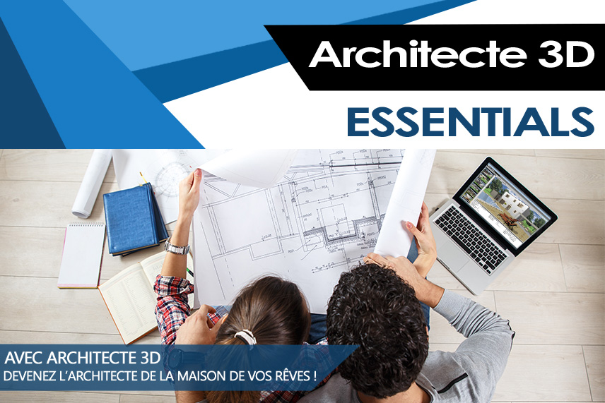 Architecte 3d essentials 2017 v19 mac for Architecte 3d 19 ultimate