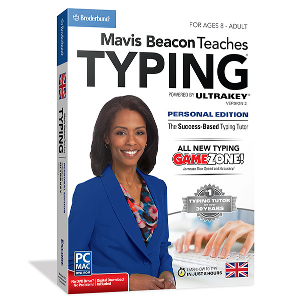 Mavis Beacon Teaches Typing Personal Edition v2