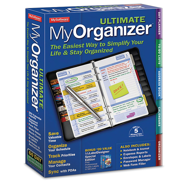 MyOrganizer Ultimate 7