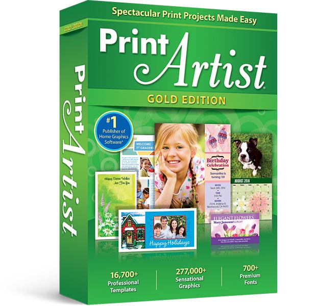 Print Artist 25 Gold