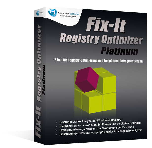 Fix-It Registry Optimizer Platinum