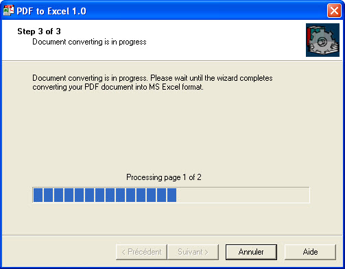 PDF-to-Excel is a program to convert Adobe PDF documents into MS Excel format.