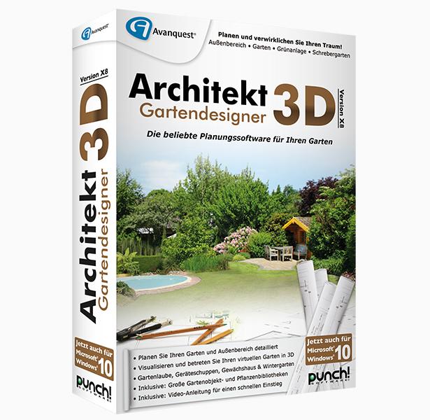 Architekt 3d x8 gartendesigner f r windows for Architekt gartendesigner 3d