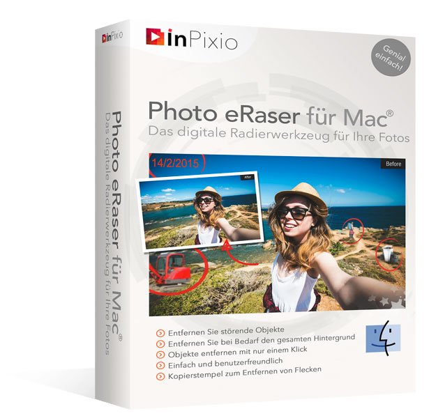 InPixio Photo eRaser für Mac