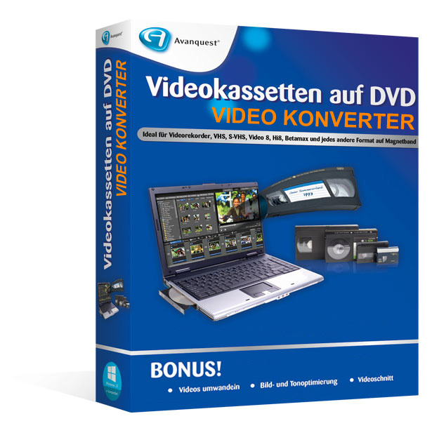 Videokassetten auf DVD – Video Konverter