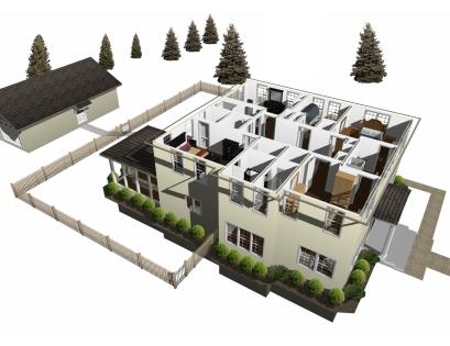 Architecte 3d essentials 2017 concevez facilement la for Concevez vos plans de maison
