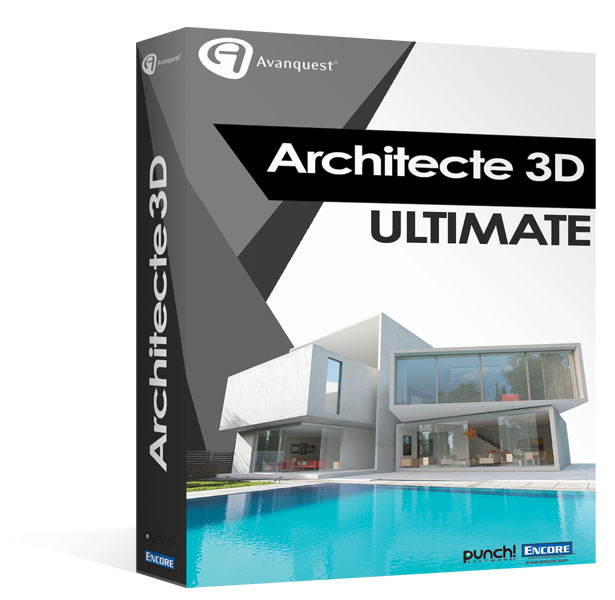 architecte 3d ultimate 2017 le logiciel ultime d. Black Bedroom Furniture Sets. Home Design Ideas