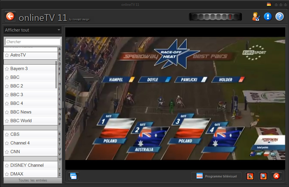 Online TV 11: Live TV on your PC