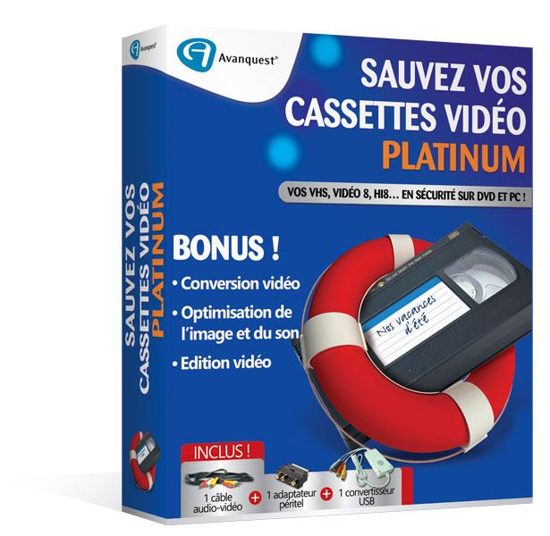 Sauvez vos cassettes vidéo Platinum