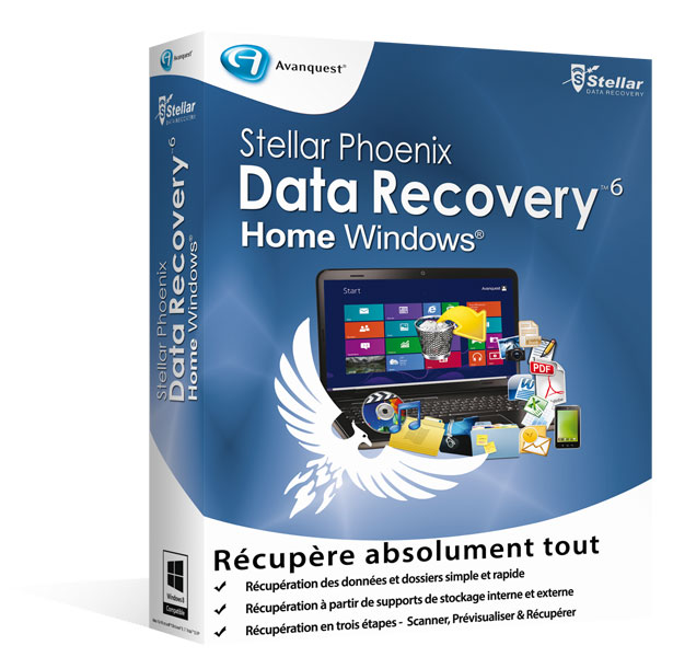 Stellar Phoenix Windows Data Recovery 6 - Home