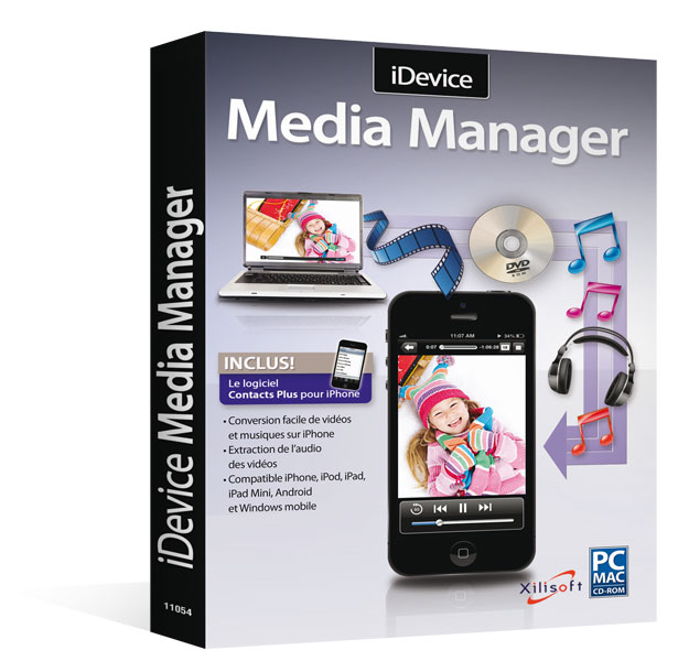 iDevice Media Manager pour Windows