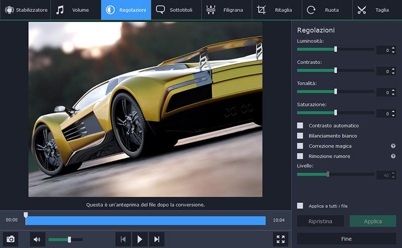 Movavi video converter il miglior programma per for Miglior programma grafica 3d