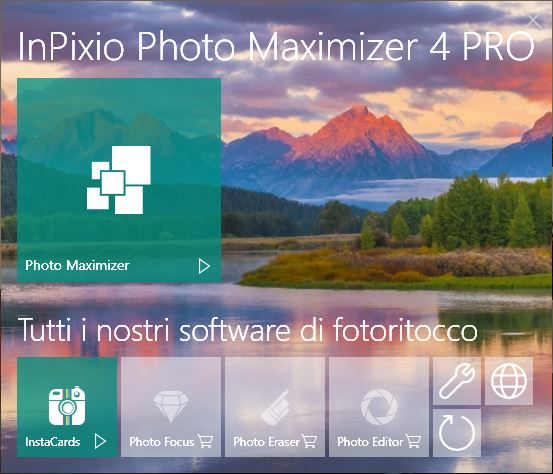 Scoprite le possibilità di Photo Maximizer!