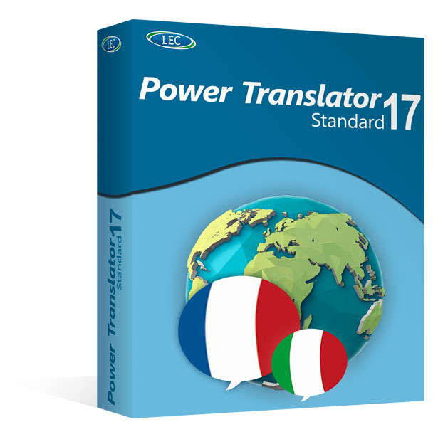 Power Translator 17 Standard - ITALIANO ↔ FRANCESE