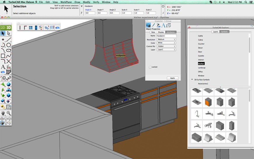 Precision 2D Drafting & 3D Modelling